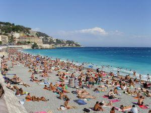France, Nice, Beach, photo by Damian Searles